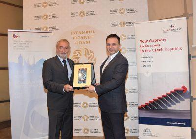 İTO Genel Sekreter Yardımcısı ve Çek Cumhuriyeti İstanbul Başkonsolosu Petr Mareš